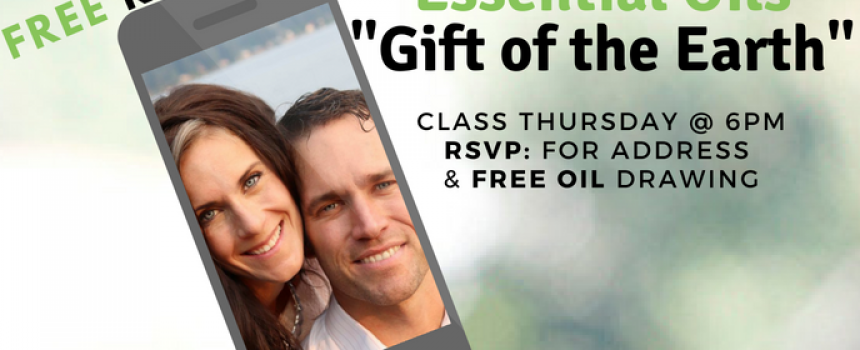 6pm FREE Essential Oils 101