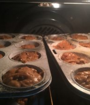 Carrot Cake Muffins with TrimShake