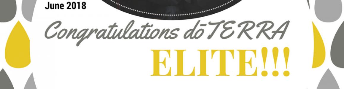 Congrats To A New Elite!